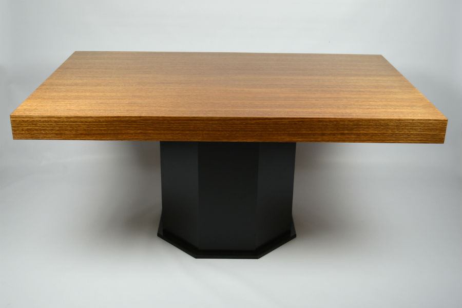 Custom made Furniture. Tassie oak dining table. Custom made furniture and furniture maker