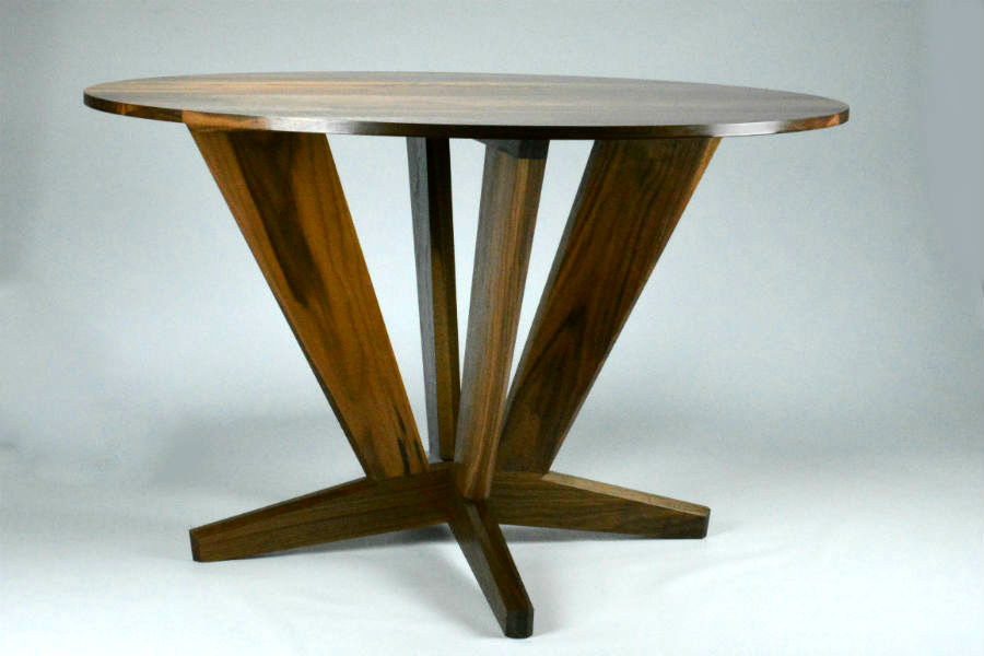 Custom made timber furniture Round-Dining-Table