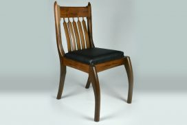 Custom made timber furniture. Custom made furniture and furniture maker. Walnut chair.