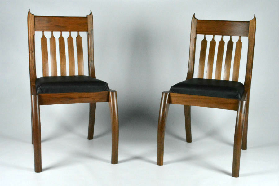custom-made-furniture-Walnut-Dining-chairs