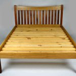 Custom made timber furniture ROSEWOOD AND WHITE OAK BED