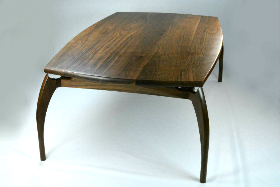 Custom made timber furniture dining table