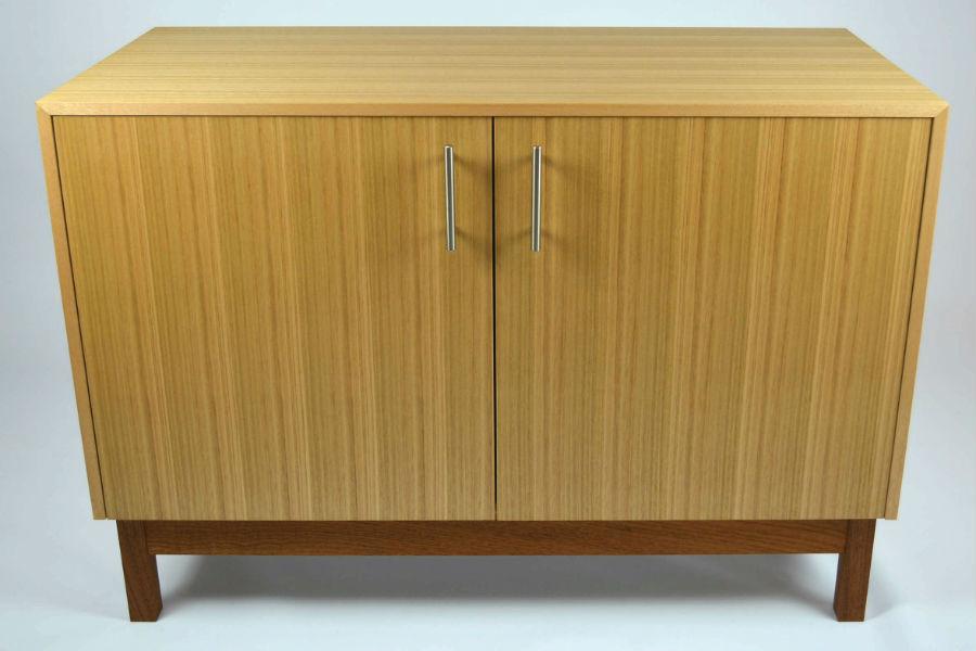 Custom made timber furniture. Custom made furniture and furniture maker. Custom made cabinet made from tassie Oak.