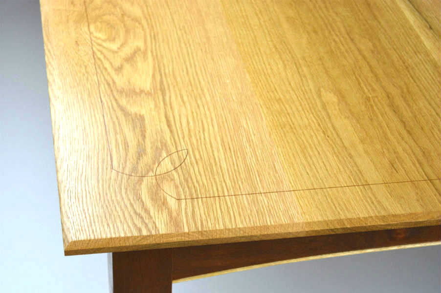 Custom made timber furniture. Custom made furniture and furniture maker. Made with curved rails with cock beading and inlayed top details. Tapped legs and top give an elegant look for a modern feel with old world-built details.