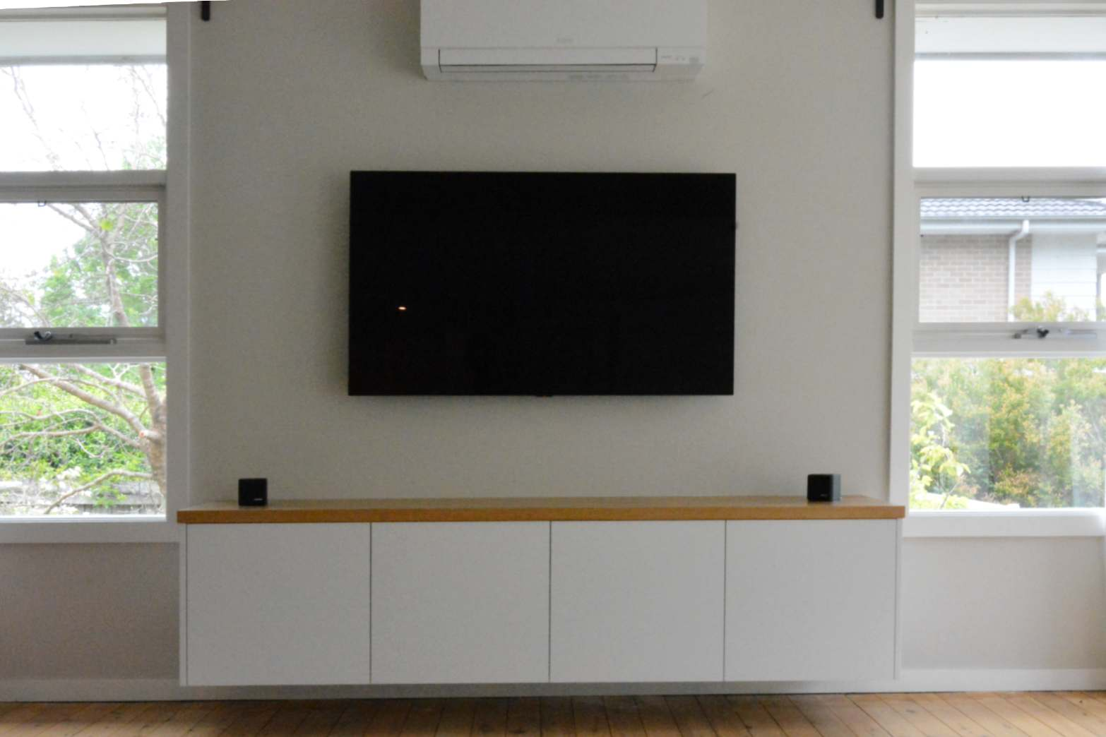 Custom made joinery and cabinet making.