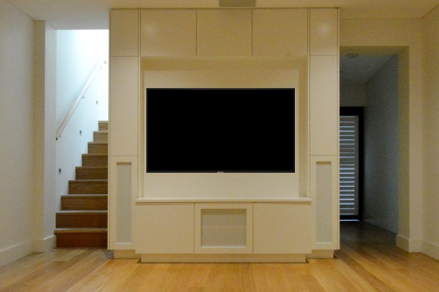 Custom made Entertainment unit Potts Point